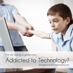 Are we raising a generation addicted to technology?