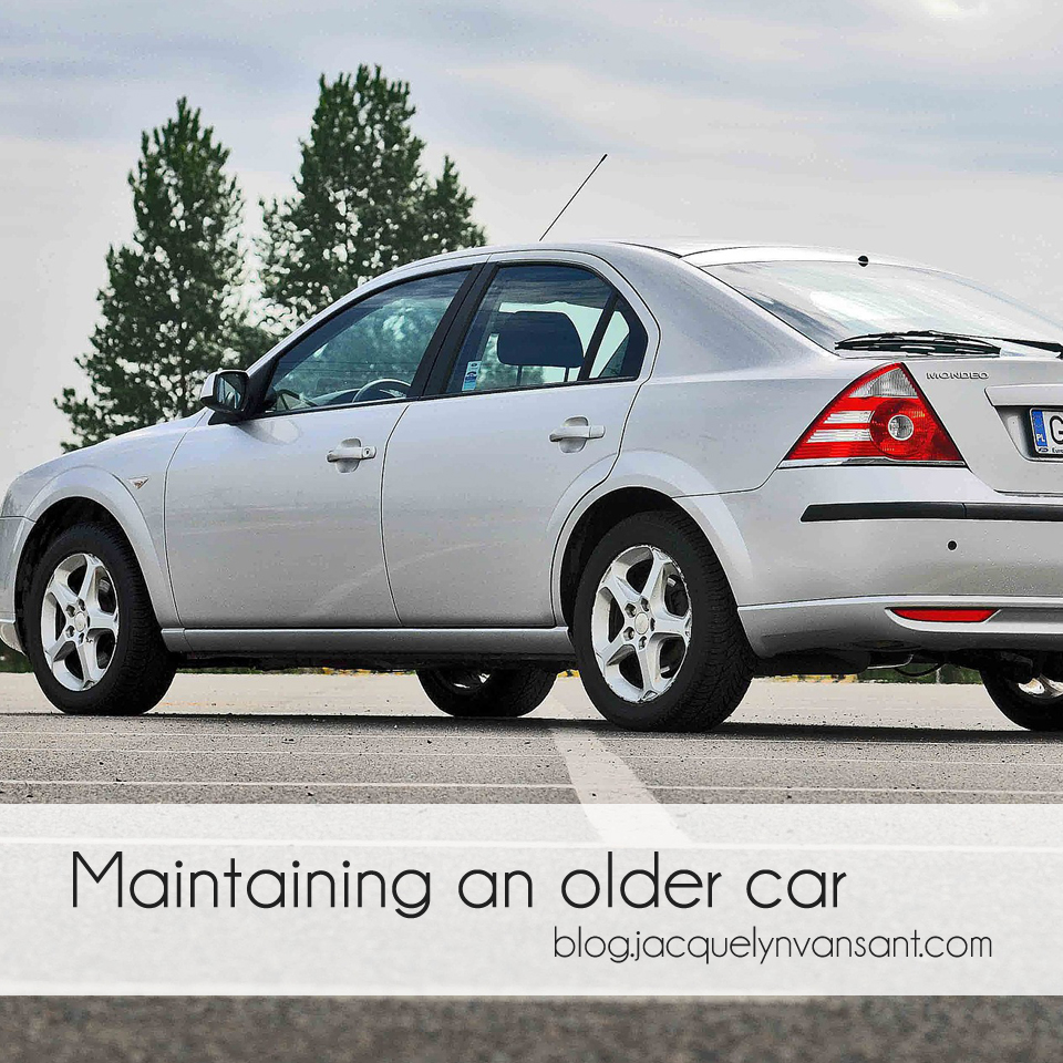 Maintain an older car or trade in for a new one?