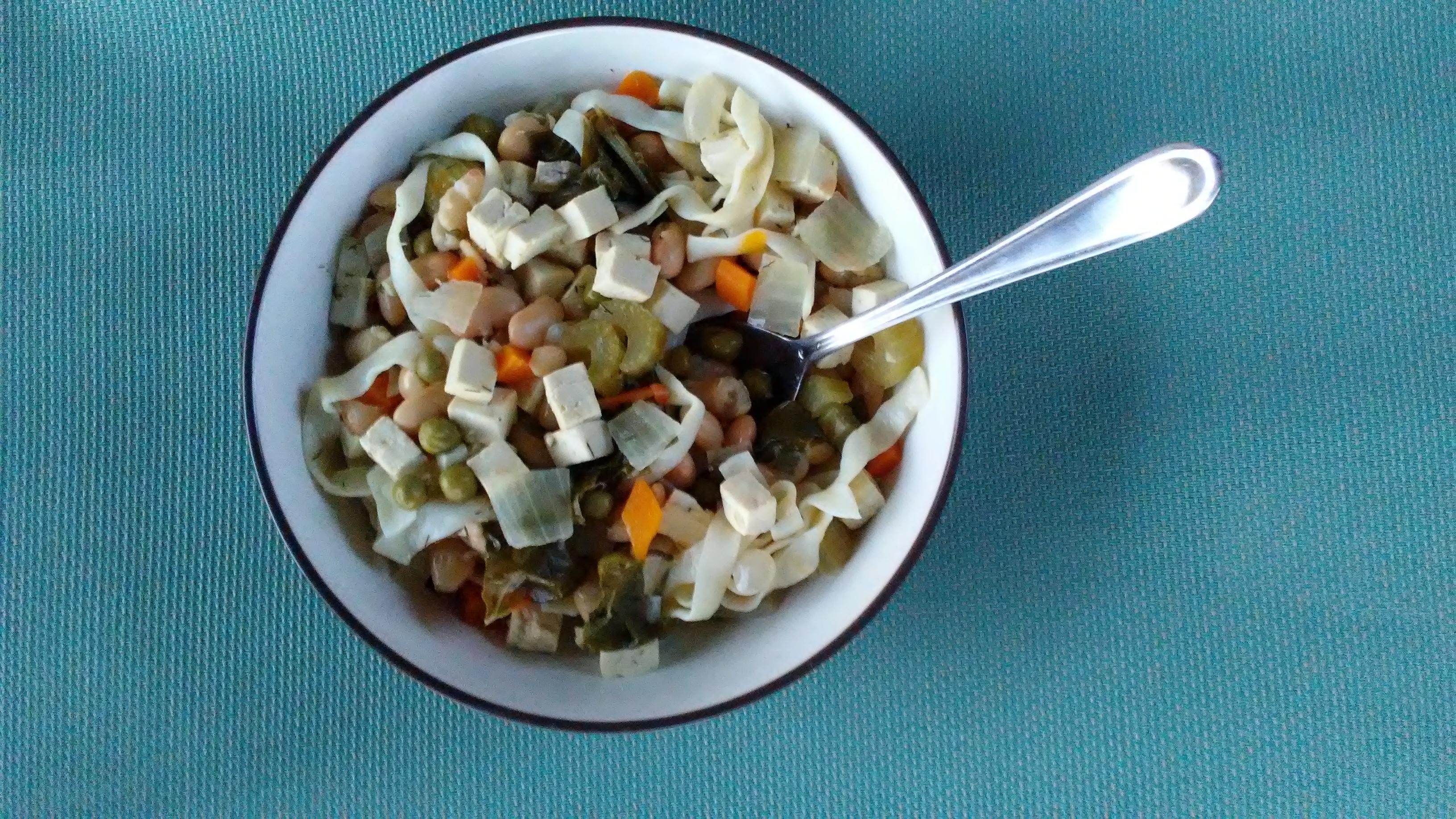 Tofu Noodle Soup. Photo by Jacquelyn.
