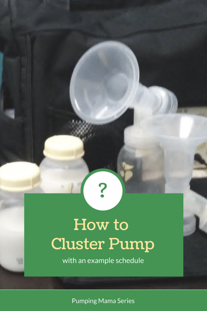 How to cluster pump to increase your milk supply