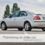 Maintaining an older car