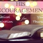 His Encouragement: Philippians 4:19