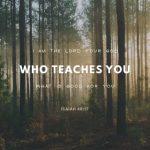 His Encouragement: Isaiah 48:17